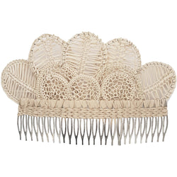 Orchid Big Hair Comb - Sophie Anderson - Luxury Designer Bags - Artisan Women's Bags