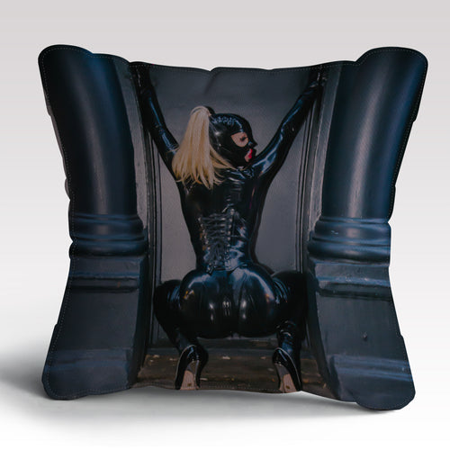 Fetish Female  Cushion by Rebecca More