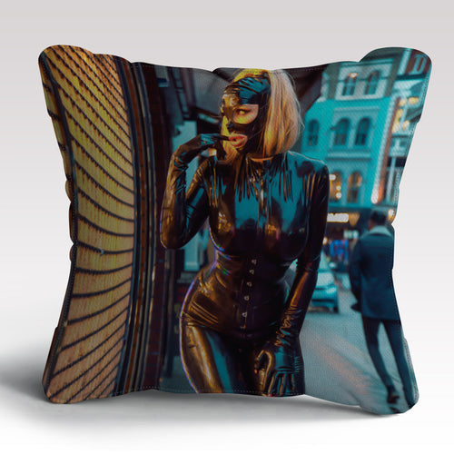 Fetish Photo Cushion by Rebecca More