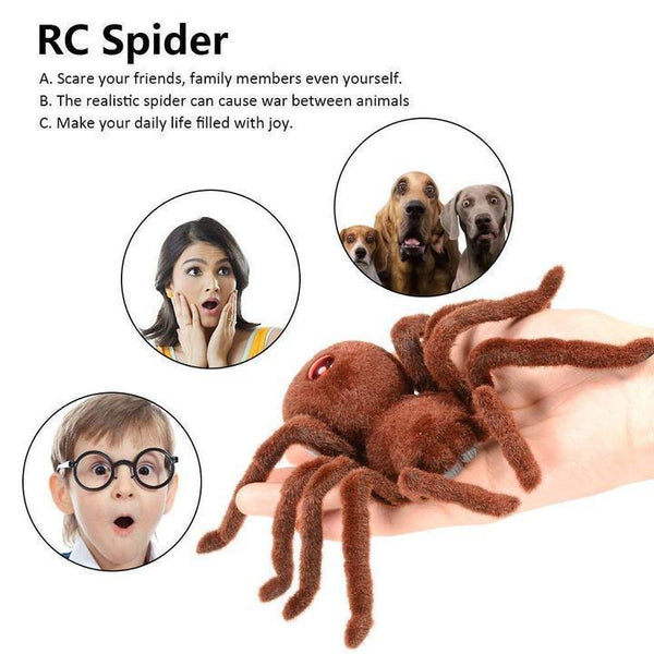 Infrared Remote Control Spider Toy Prank Gift