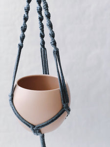 "Macrame ""Gray ropes"""