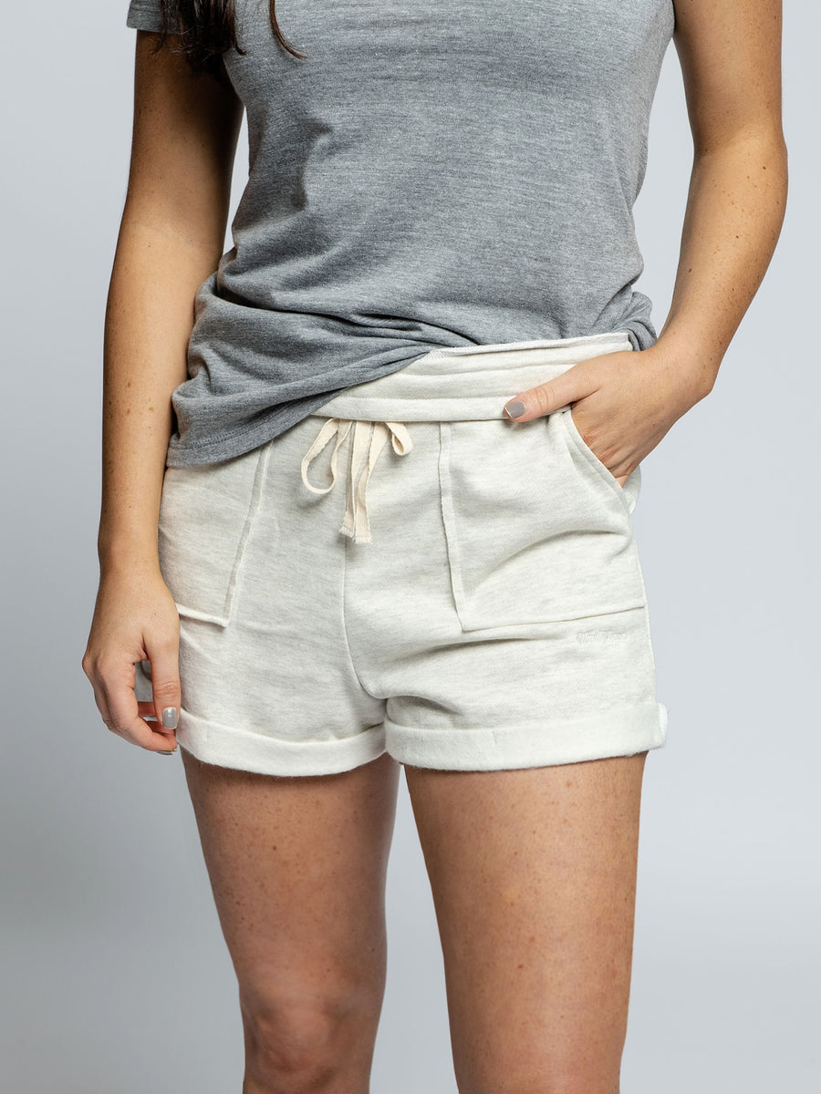 Women's Grey Lounge Shorts
