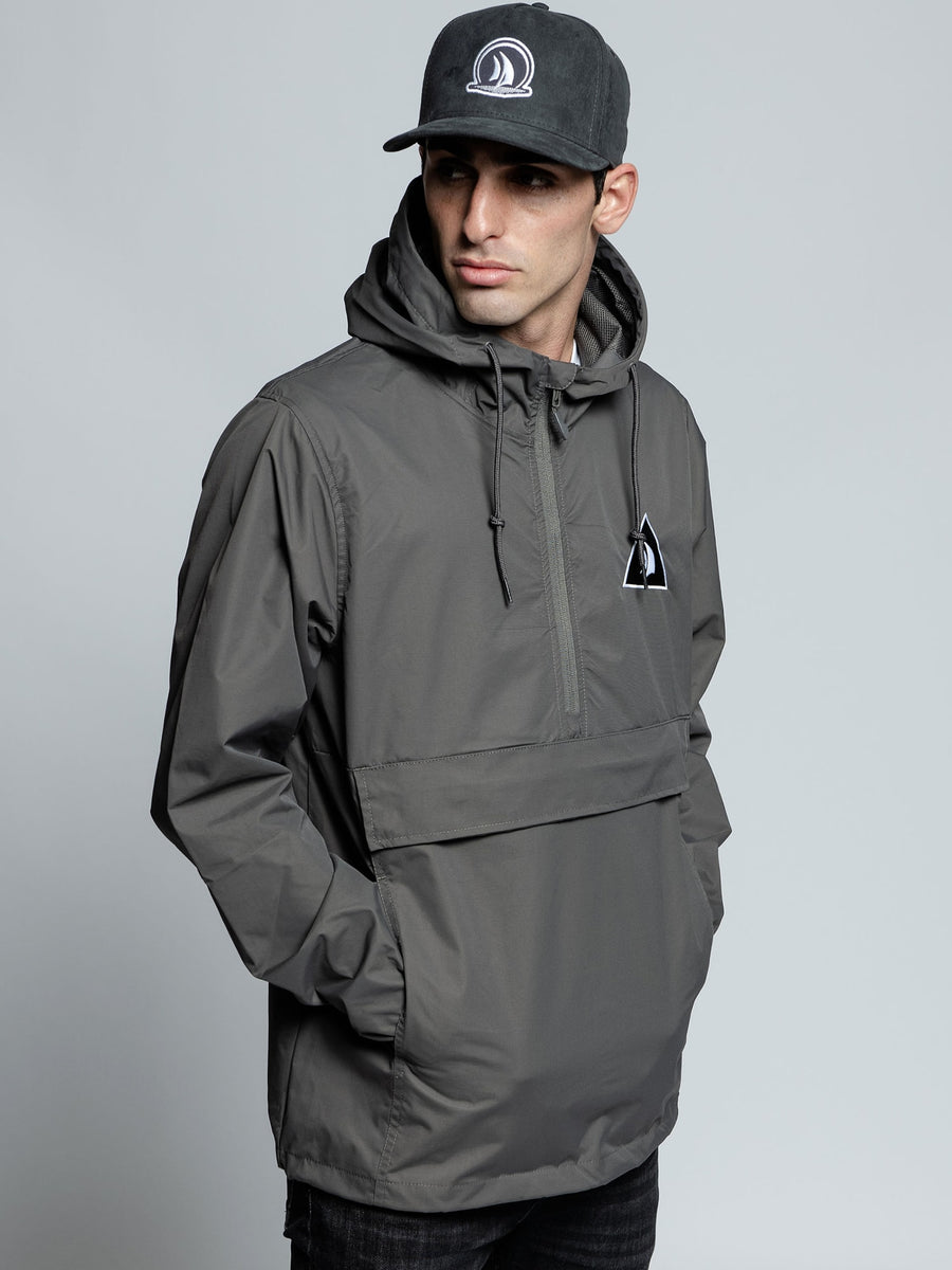 Graphite Anorak Windbreaker