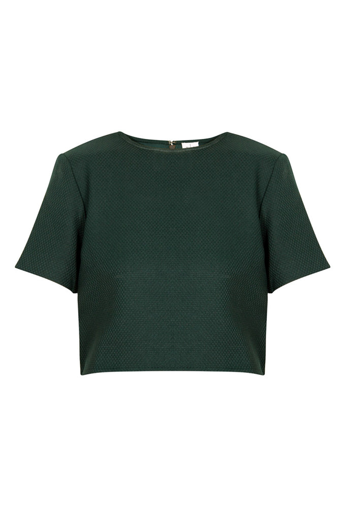 Wray Forest Green Otto Top