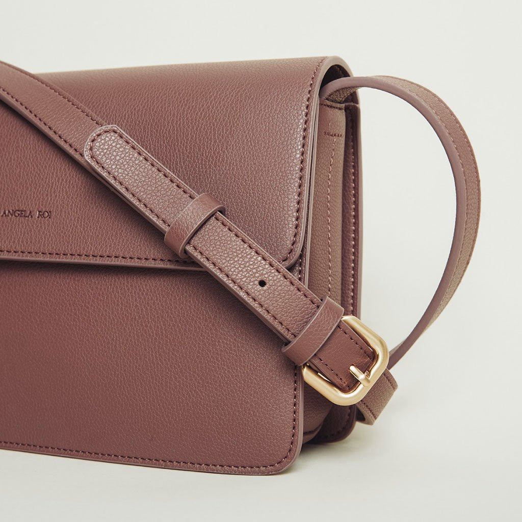 Hamilton Cross-body in Ash Rose