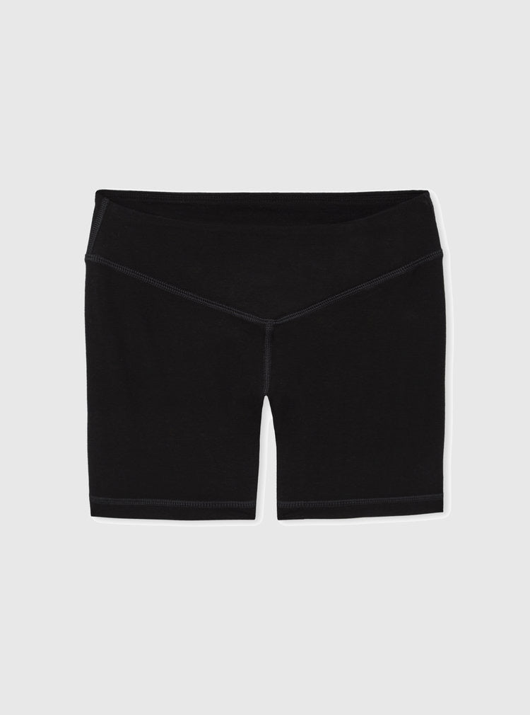 Miakoda Crescent Moon Athletic Shorts, front view