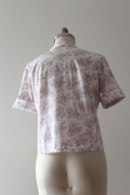 Load image into Gallery viewer, vintage 1950s novelty rococo blouse