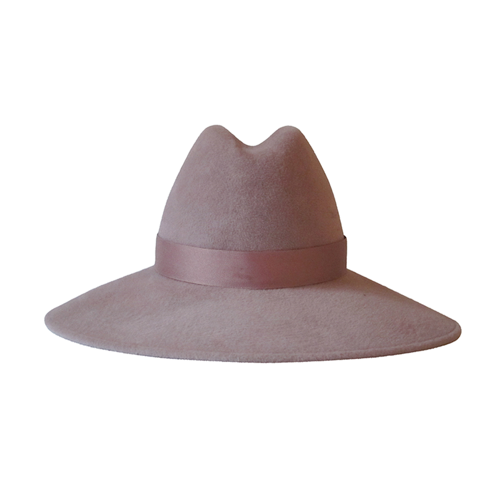 Requiem Fedora | Dusty Rose
