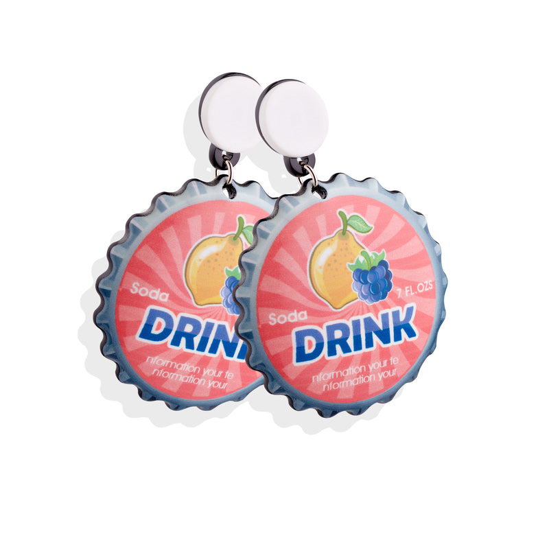 SODA Savana Earrings - Cherry Cherry