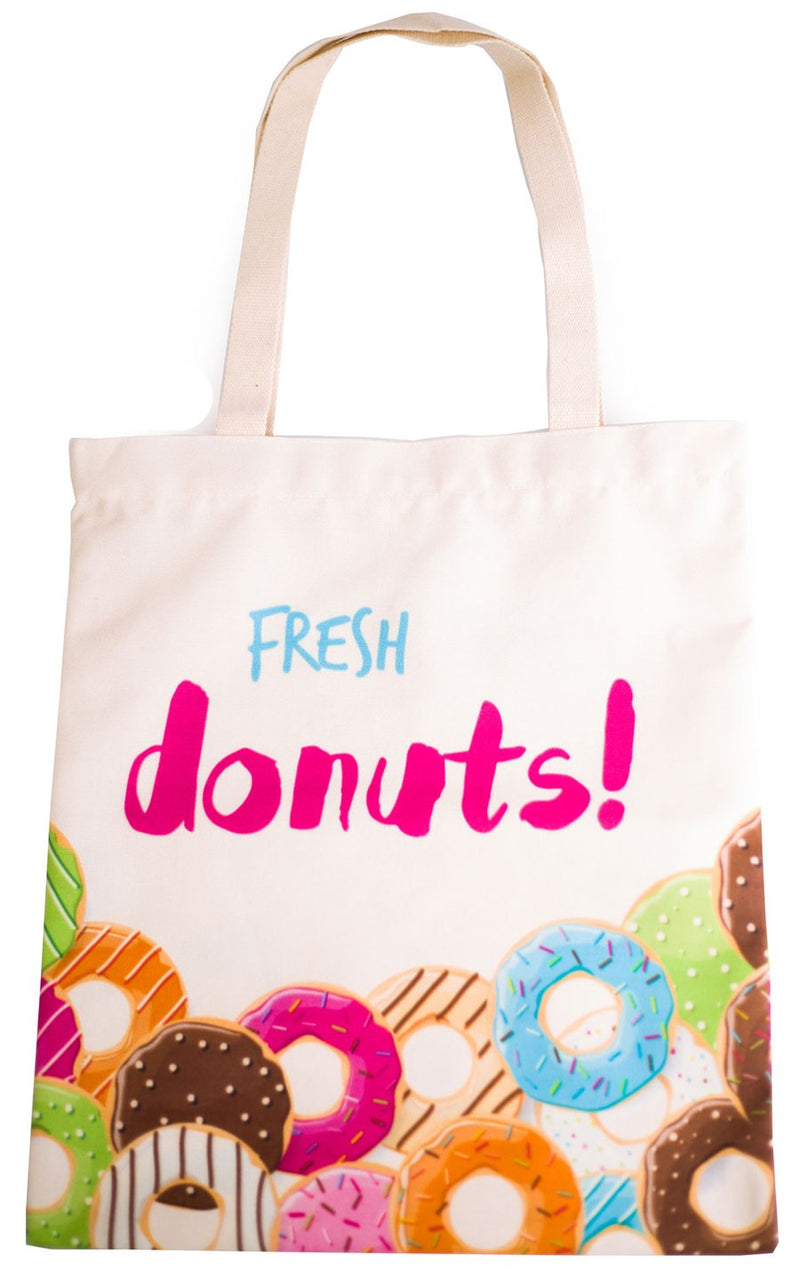 Fresh Donuts Tote Bag - Cherry Cherry