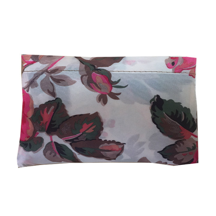 Rosy Floral Shopper Bag - Cherry Cherry