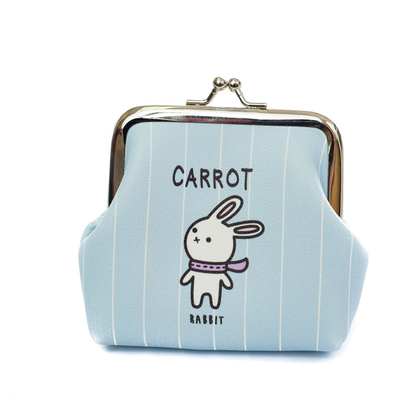 Carrot Rabbit Coin Purse - Cherry Cherry
