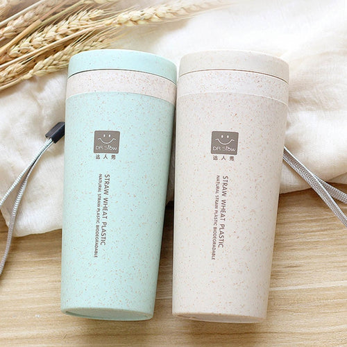 Eco-Friendly Double Layer Travel Cup