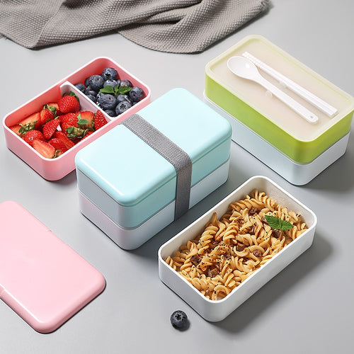 2-Layer Bento Style Lunch Box