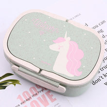Load image into Gallery viewer, Unicorn Eco-Friendly 2-Layer Lunch Box