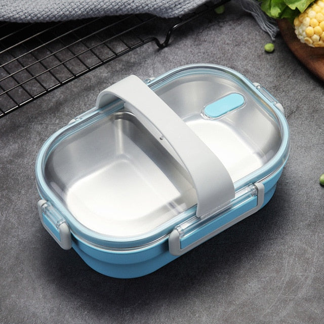 Stainless Steel Leakproof Bento Lunch Box