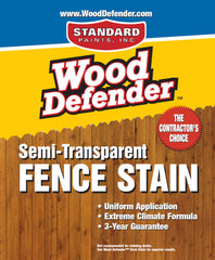Semi-Transparent Fence Stain