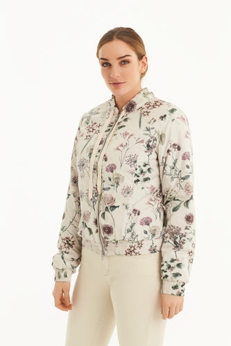Bloom Print Padded Jacket