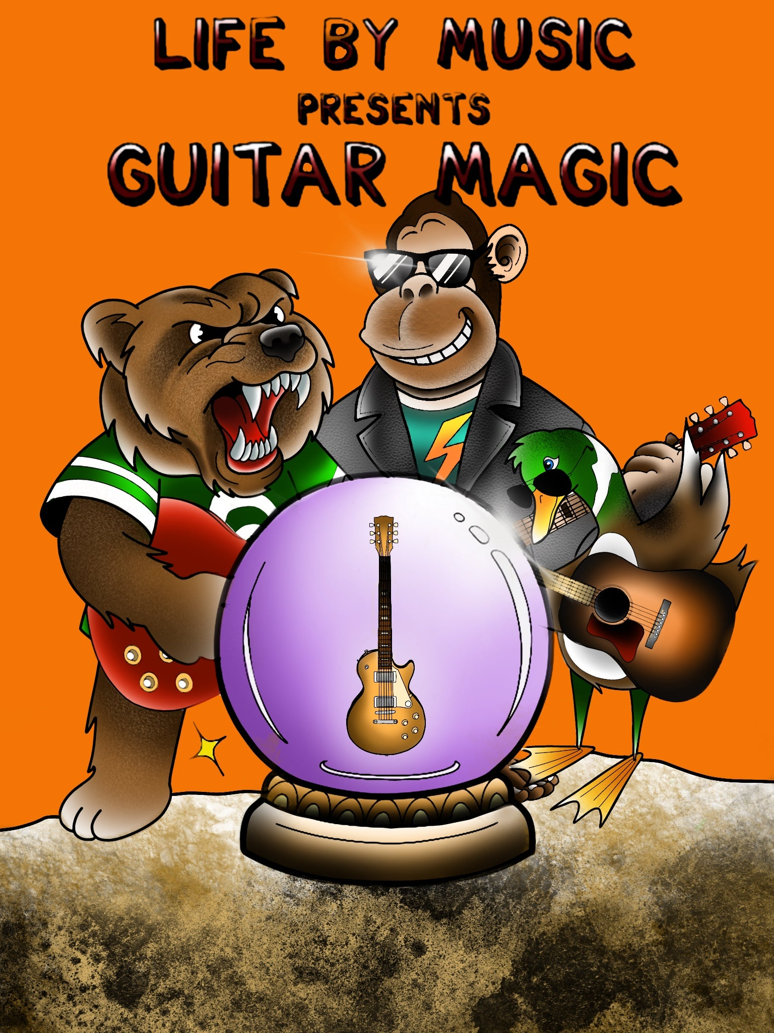 Guitar Magic Book (Buy One Give One FREE)