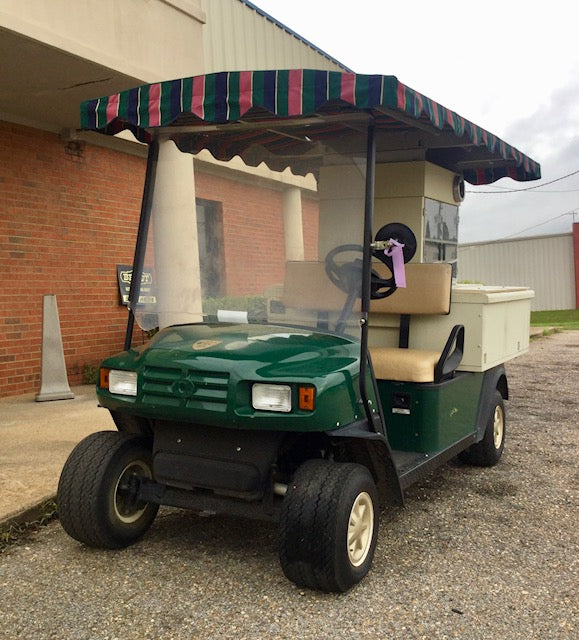 Ezgo Refreshment Cart Front Sideview