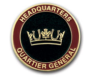 Headquarters HQ Coin