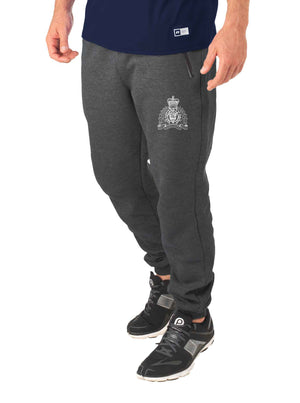 Mens Grey Fleece Joggers