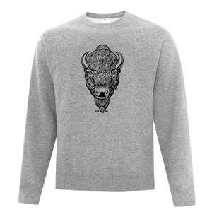 RCMP Buffalo Head Men's Crewneck