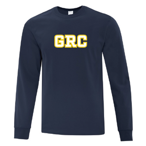 GRC Mens Navy Long Sleeve