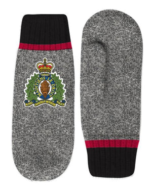 RCMP Crest Lined Mitts