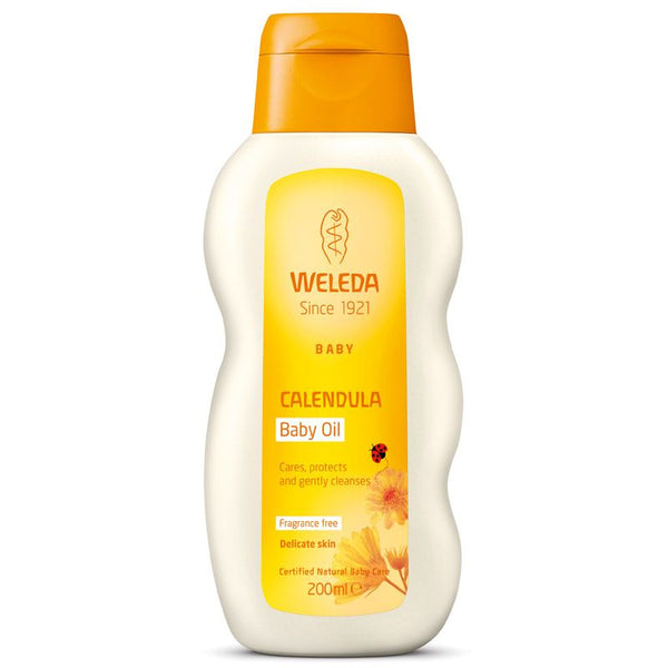 Weleda Baby and Child Fragrance Free Calendula Baby Oil
