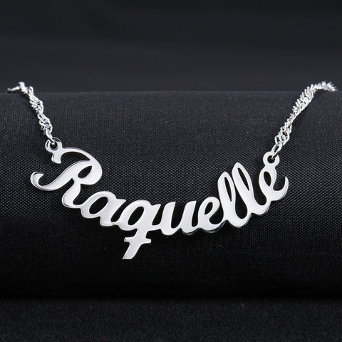 Nana Personalized Mini Nameplate Necklace