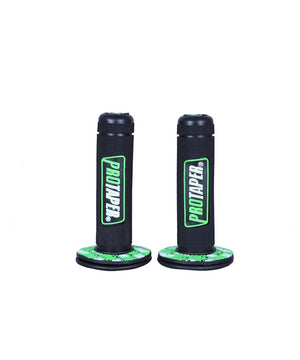 Pro Taper Grip for Motorcycles in black and green
