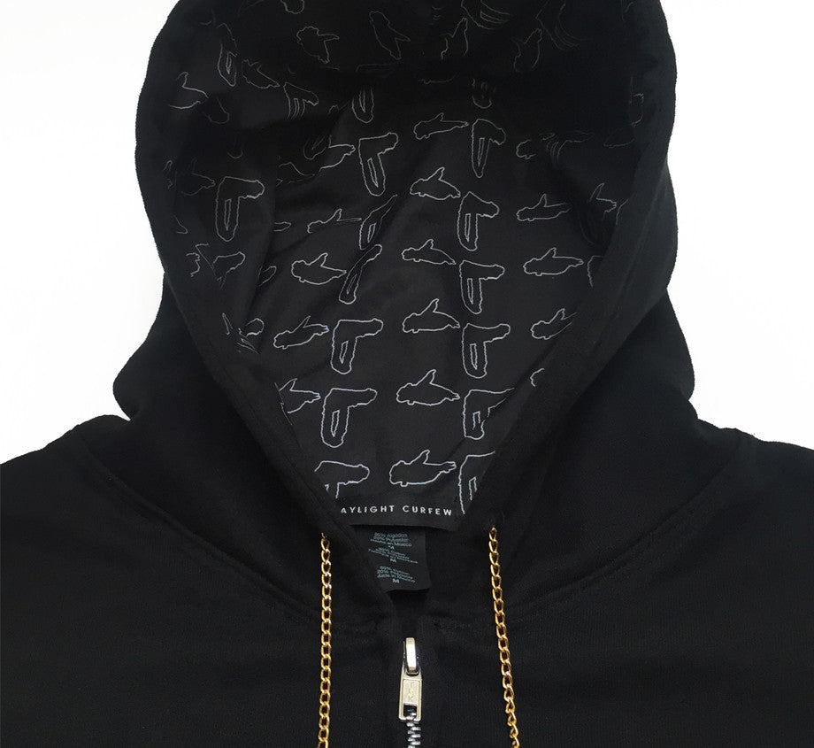 "Run The Jewels x Daylight Curfew: The 36"" Chain Hoodie"