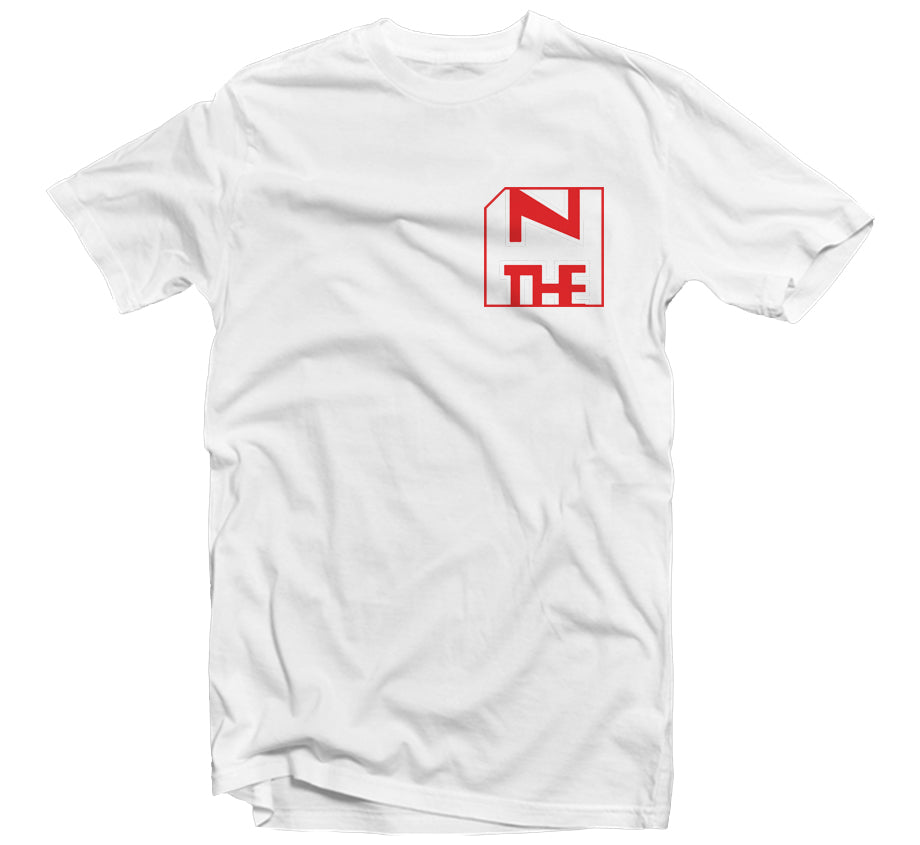 Clipped T-shirt (White)
