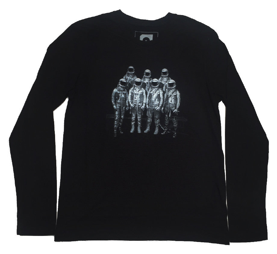 Space Long-sleeve T-shirt - Black