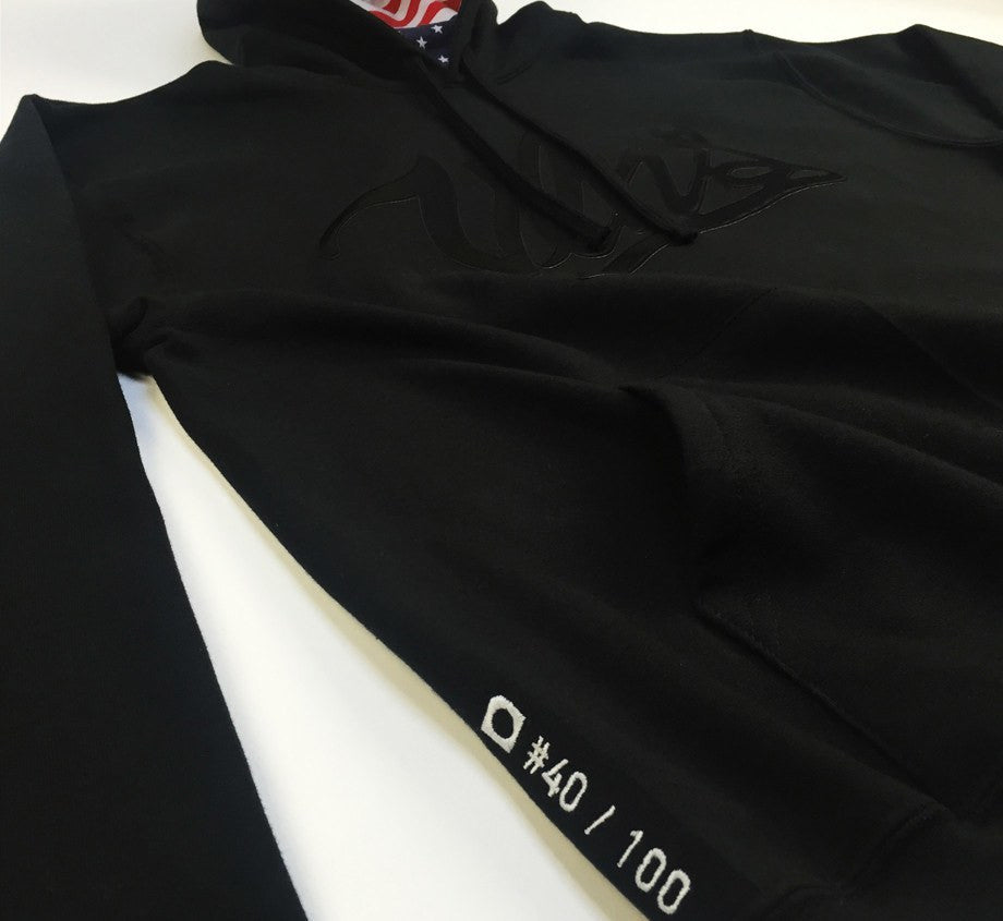 Hoodie - Killer Mike X Daylight Curfew Black Label: Crook Look Hoodie