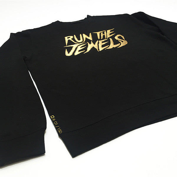 Run The Jewels x Daylight Curfew: Stay Gold Crew Sweatshirt