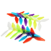 Charger l'image dans la galerie, 10 Pairs Racerstar Fish Bone 5041 3 Blade Racing Propeller for Racing
