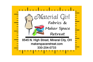 Material Girl & Maker Space Retreat LLC