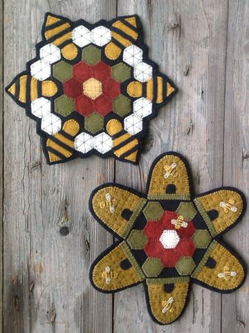 The Bee Farm pattern  by Wooden Spool Designs