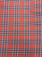 Poly Viscose Tartan Royal Stewart