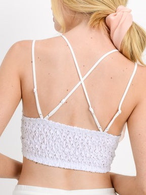 One + Only Bralette | White