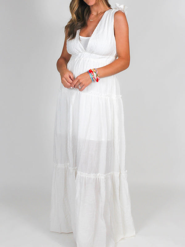 When in Rome Maxi Dress | White | FINAL SALE