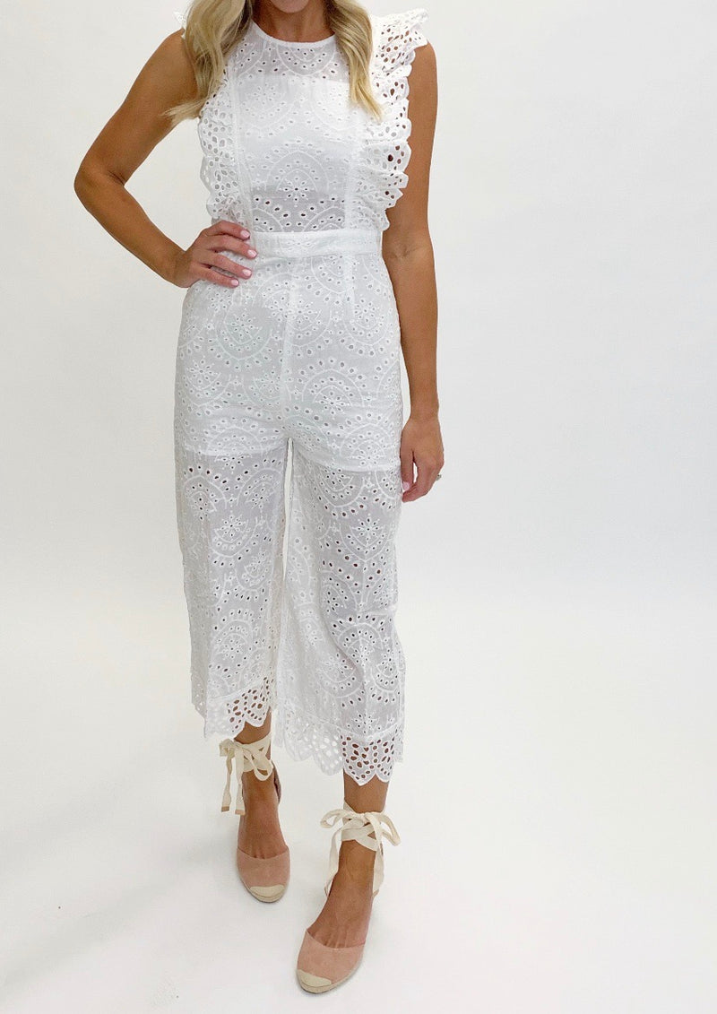 Ocean City Jumpsuit | Ivory | FINAL SALE