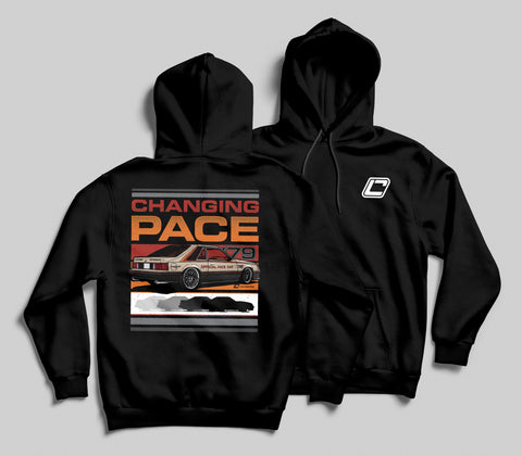 """Changing Pace"" 1979 Fox Body Pace Car Hoodie"