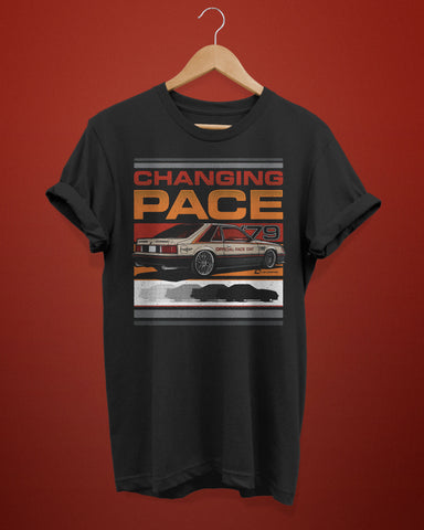 """Changing Pace"" 1979 Fox Body Pace Car Shirt"