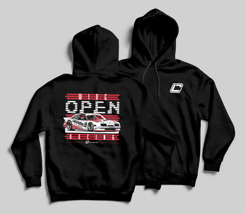 Wide Open Racing Fox Body Hoodie