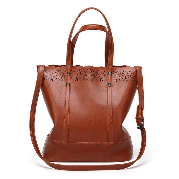 Pierrebuy _ Fashion Large Capacity PU Leather Women Handbags Ladies High Quality Casual Tote Bags  114258_designer bags