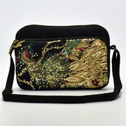Sequins Phoenix Embroidered Bags
