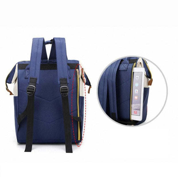 Pierrebuy _ Fashion Large Capacity Women Backpack High Quality Oxford Handbag Zipper Mummy Bags 116159_designer bags